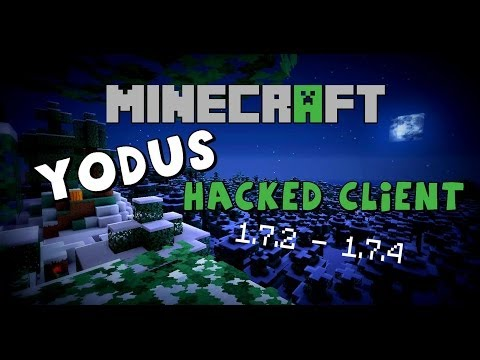 Minecraft 1.7.2 - 1.7.5 : Hacked Client - Yodus - The new Nodus ?! [HD]
