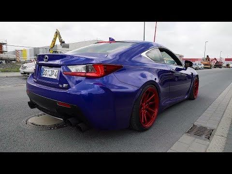 JP's Lexus RC F W/ Armytrix Header-Back Exhaust - Loud Accelerations & Donuts!