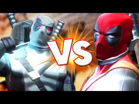 DEADPOOL X FORCE VS DEADPOOL - Marvel Contest of Champions - Gameplay Part 26