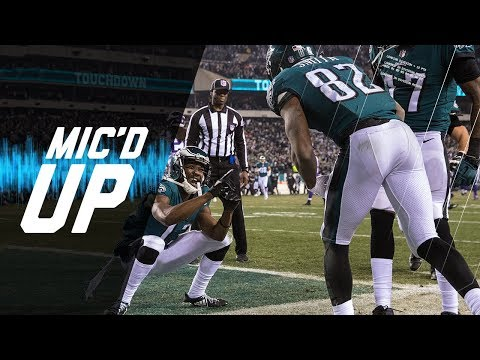"Mic'd Up Vikings vs. Eagles ""We Ain't Done Bombing on Them"" (NFC Champ) 