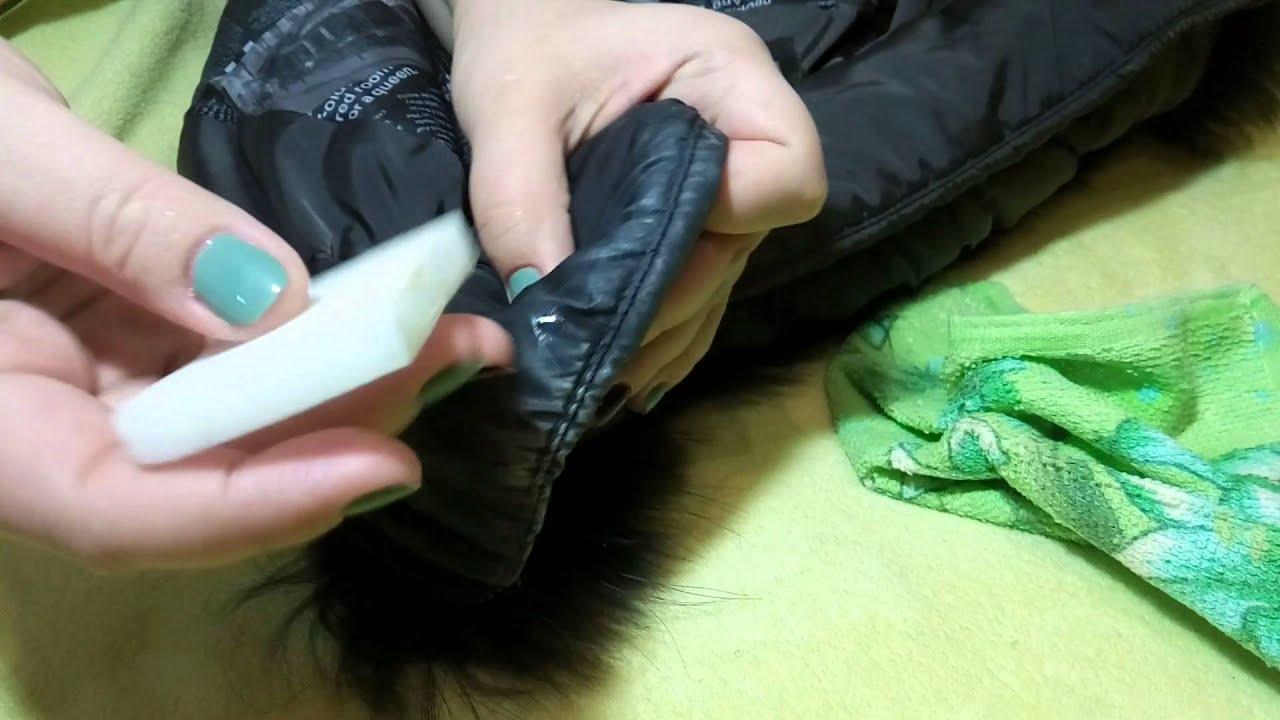 Как почистить пальто в домашних условиях от тонального крема
