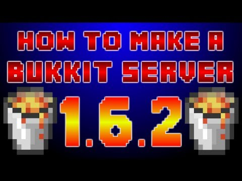 How to Make a Minecraft 1.6.2 Bukkit Server !!! [FAST + EASY!]