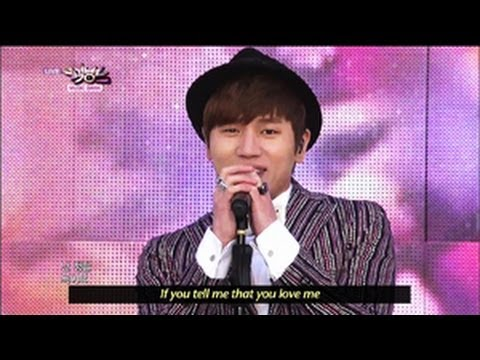 K.WILL - Love Blossom (2013.05.25) [Music Bank w/ Eng Lyrics]