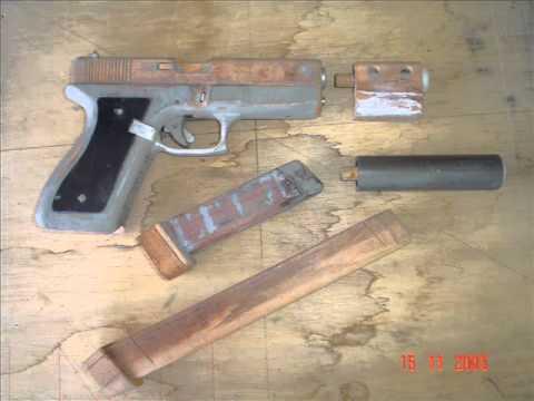 manufaturando da pistola GLOCK 17