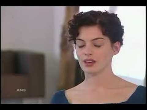 ANNE HATHAWAY BECOMES JANE AUSTEN