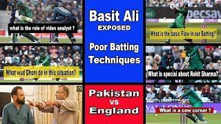 Cafe Cricket - Basit Ali Exposed Pakistan Poor Batting Techniques