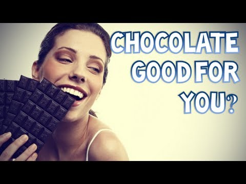 IS DARK CHOCOLATE ACTUALLY GOOD FOR YOU?