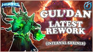 Grubby | Heroes of the Storm - Gul'Dan - Latest Rework - Quick Match - Infernal Shrines