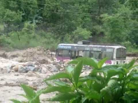 Flood in Prithivi Highway of Nepal