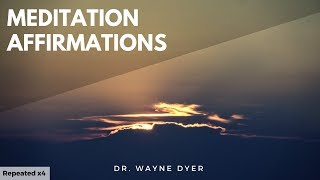 Wayne Dyer - Meditation - Affirmations - Law of Attraction - Three Magic Words. (Looped x4)