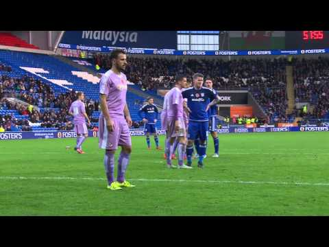 Highlights: Cardiff City 2-0 Reading (Sky Bet Championship) 7th November 2015 HD