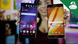 LG V10 vs Samsung Galaxy Note 5
