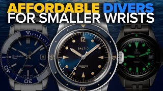 Diver Watches for Small Wrists $80-$1,000 (All Under 40 MM)