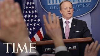 Press Secretary Sean Spicer Resigns After Anthony Scaramucci Named Communications Director   TIME