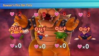 Mario Party 10 Bowser Party - Chaos Castle (Bowser Vs. Team Mario Master Difficult) #22 MARIO CRAZY