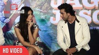 Katrina Kaif and Ranbir Kapoor Funny Moment | Galti Se Mistake Song Launch | Jagga Jasoos