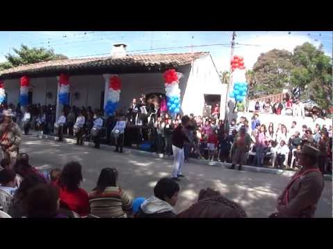 Desfile 14 de mayo 2012 Pilar Paraguay. Colegio Técnico Juan XXIII