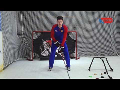 Техника ведения шайбы (Хоккей)