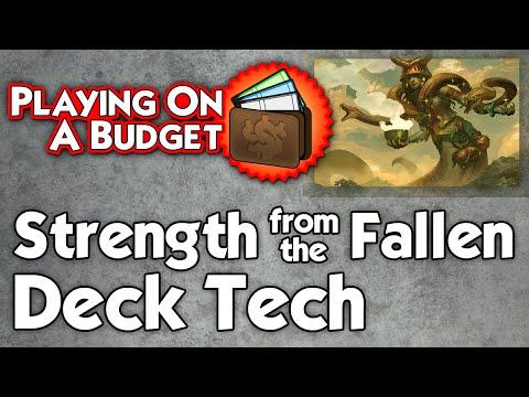 MTG Standard: Strength from the Fallen Deck Tech - Playing on a Budget