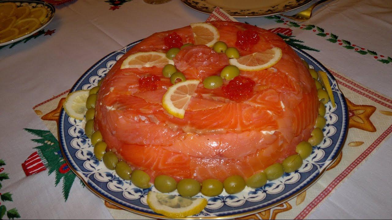 Салат с красной рыбой слоеный рецепт очень вкусный с