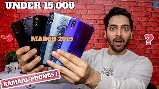 Top 5 Best Budget Smartphones Under 15,000 [March 2019]