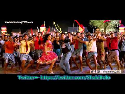 New Hindi Song 1 2 3 4 Get On The Dance Floor With Lyrics(2013) Copyright Of Chennai Express video