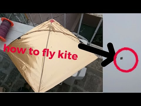 HOW TO FLY KITE | KITE FLYING TUTORIAL FOR BEGINNERS