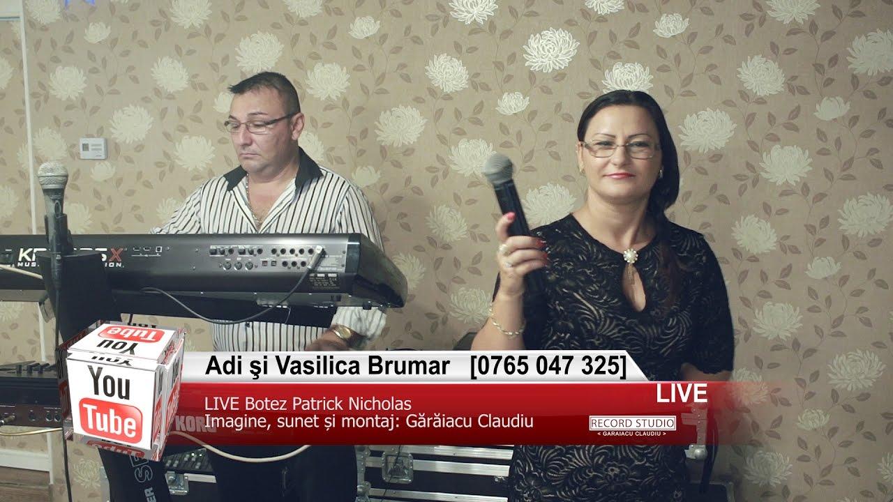 Adi si Vasilica Brumar | Colaje HORA LIVE | Muzica Lautareasca de Petrecere | Botez Patrick Nicholas