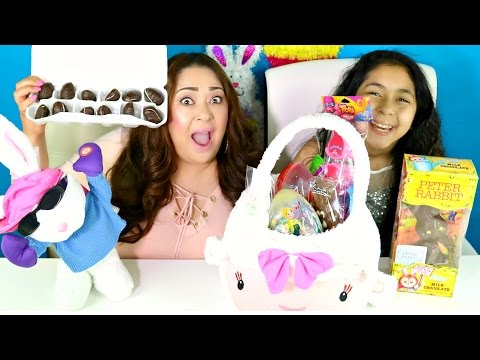 TRYING EASTER CANDY    B2cutecupcakes