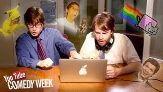 The History of YouTube by The Gregory Brothers (YouTube Comedy Week)
