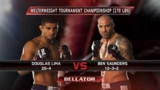 Bellator MMA Highlights: Douglas Lima KOs Chris Lozano Out Cold