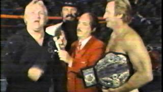 Nick Bockwinkel Promo - The Incredible Sulk Hogan
