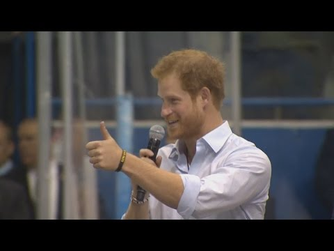 Prince Harry in Toronto