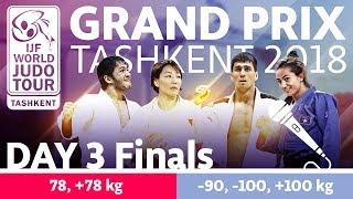 Judo Grand-Prix Tashkent 2018: Day 3 - Final Block