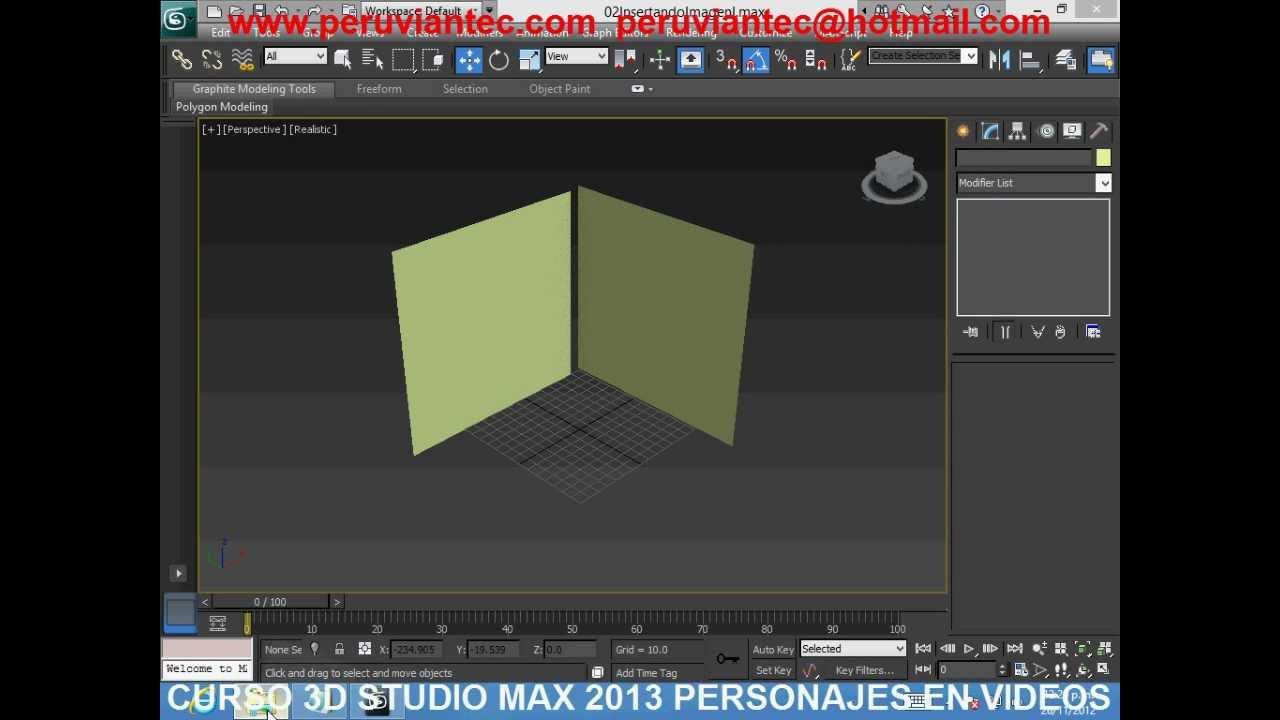Curso 3d studio max 2013 personajes curso completo en for 3d studio max