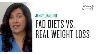 Jenny Craig vs. fad diets: real weight loss transformation