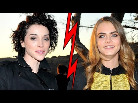 Cara Delevingne Heartbroken Over St Vincent?
