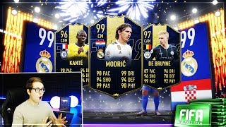 FIFA 19: TOTY LATE NIGHT PACK OPENING! ENDLICH STREAM 😱😱 Realfifa