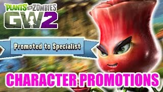 "Plants vs Zombies Garden Warfare 2 - Character Promotions ""Lots Of Coins"""