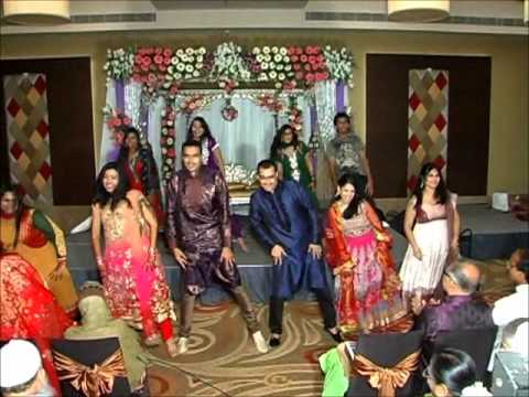 Flash Mob At Muzna & Thauseef's Wedding - Tu Mera Hero video