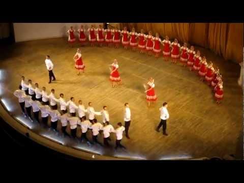 Русский танец Russian Dance Igor Moiseev Ensemble Svetit Mesiats