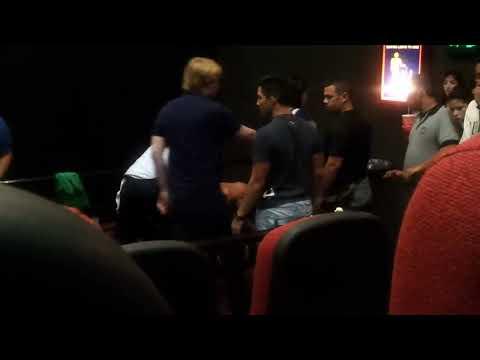 Pelea en Cines Unidos Sambil Maracaibo