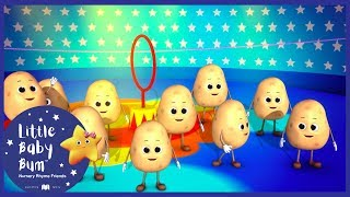 1 Potato 2 Potato + More! | Little Baby Boogie | LBB | Nursery Rhymes For Babies