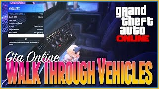 Gta 5 Online - Walkthrough Cars Glitch, ULTIMATE INTERIOR VIEW New Glitches