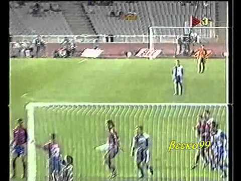 Barcelona Vs Atletico Madrid Spanish Super Cup 1996 part 1/6
