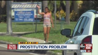 Sarasota police tackle prostitution problem