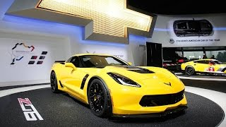 General Motors' Chevy Corvette Z06 Wins Fastest Car Contest