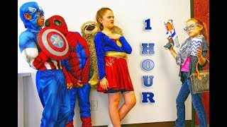 Little Superhero Kids Compilation Video from New Sky Kids - 1 Hour of Super Squad Adventures