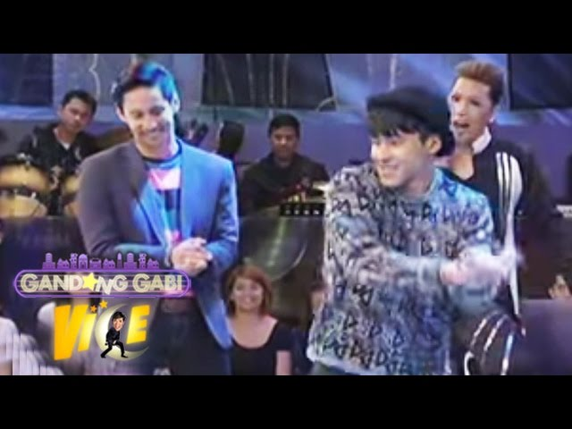 "AJ, Enchong dance to ""Twerk It Like Miley"" on GGV"