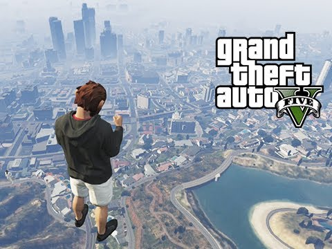 GTA 5 Online Ragdoll Delirious, Super Air Thrusting and Gate Launch Glitch